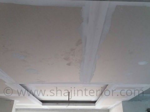Gypsum False Ceiling Joint Putty Finish